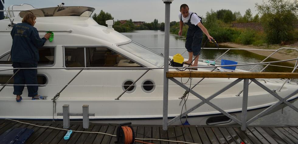 Уборка на яхтах и катерах